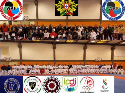 Ação de Formação para arbritos e treinadores de Karate